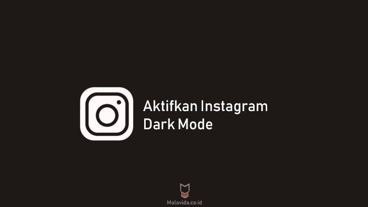 aktifkan instagram dark mode
