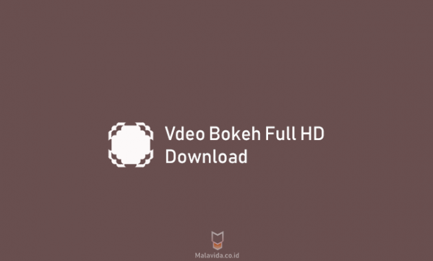 bokeh video full