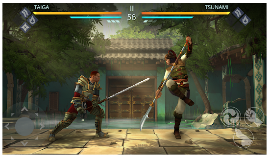 shadow fight gameplay