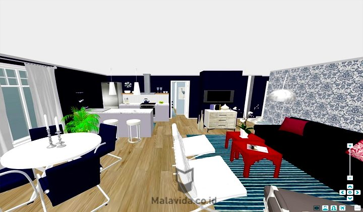 3D Interior Room Design
