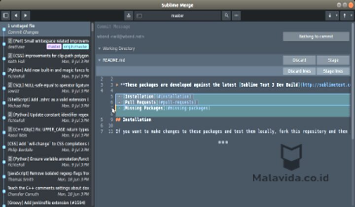 Aplikasi Text Editor Sublime Text