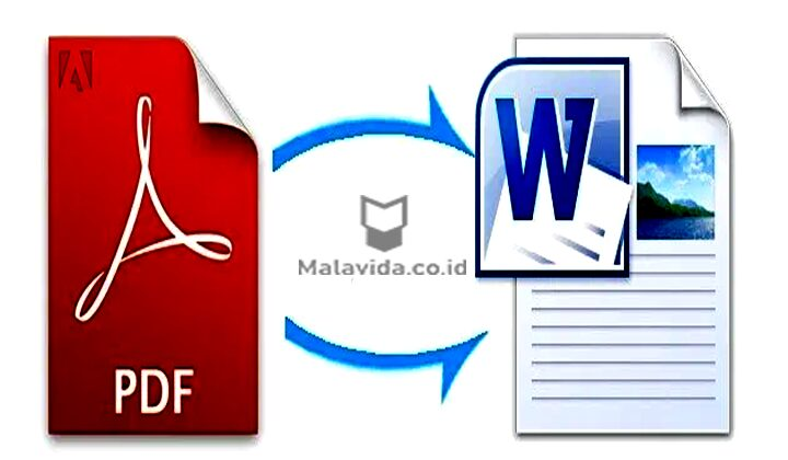 Konversi PDF ke Word dengan Google Documents