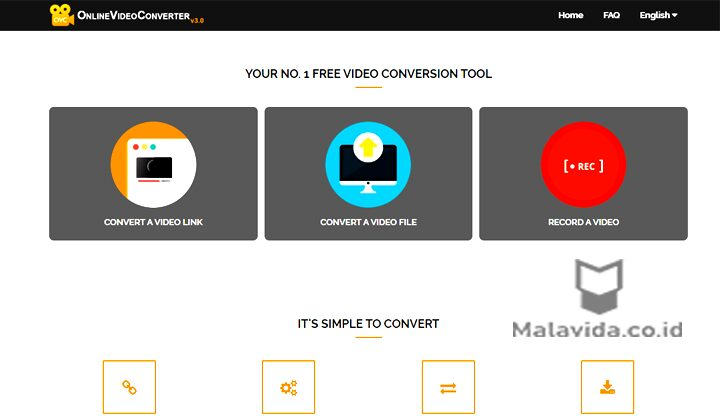 ubah video ke mp3 Onlinevideoconverter com